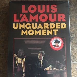 Louis L'amour Unguarded Moment Books on Tape - New
